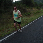 Andy (Fat B@stard), half way through and still smiling!