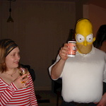 What the hell is Homer doing here?