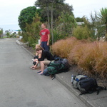 Waiting for the Bus, Nelson Airport