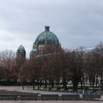 The Berlin cathedral from a far