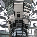 Inside the Reichstag - created to give you a view of the members of parliament at work.