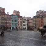 Warsaw: Old town square, all rebuilt after WWII