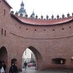 Warsaw: Main gate for the Old town