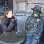 Krakow: Tom caught out with his metal friend