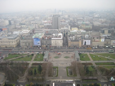 Warsaw: View from the top!
