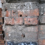 Warsaw: Bullet holes in the remaining walls