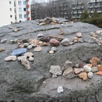 Warsaw: Messages left even now to show remembrance