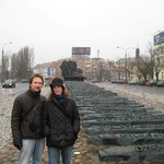 Warsaw: A very effective monument marking those who were taken to concentration camps from Warsaw