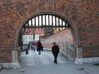 Krakow: Entrance to the grounds