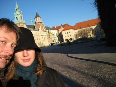 Krakow: First spot of sun in a while!