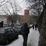 Krakow: Walk to the main hostel to check out