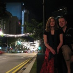 Orchard Road with Christmas in the air