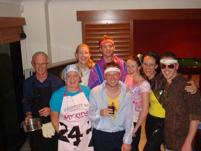 New Years Eve: The Turners 80s style