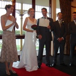 The Wedding: The certificate