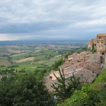 Amazing views out from Montepulciano