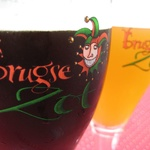 Mmmm, tasty Brugse Zot - the last remaining brewery in Bruges (which pretty much caters for the tourist hordes!).
