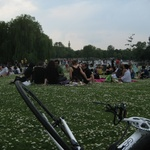Summer comes early with a lunch in Regents Park.