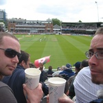 Lords cricket match.