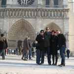 New Zealanders at the Notre Dame