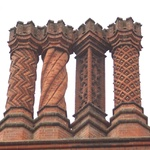 Got to love the chimneys