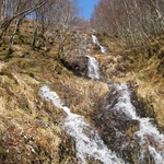 A trickle through the lower slopes of Ben Nevis