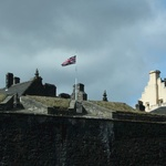 The walled Stirling Castle