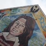 Bobby Sands the first to die in the hunger strike in prison
