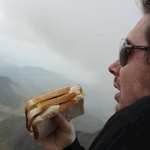 Rewarded with a three tiered sammy at the top.