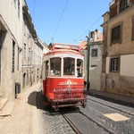 Lisbon's tram's were a little crazy but fun