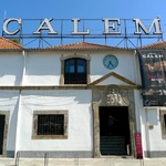 Calem wine house where we had a tour