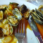 Tasty clam entree.