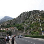 The walk into Kotor