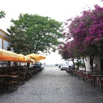 Beautiful european streets in Colonia del Sacramento