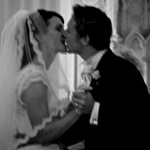 And finally, we get to kiss, as husband and wife!
