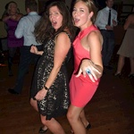 Jo and Lucy shake things up on the dance floor