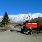 The entrance to Cardrona Ski Field