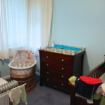 Olive's new room.