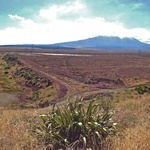 Mt Ruapehu on the way home